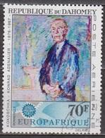 Europafrique - DAHOMEY - Portrait Du Chancelier Allemand Konrad Adenauer - PA N° 62 - 1967 - Benin – Dahomey (1960-...)