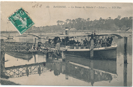 "BAYONNE - Le Bateau De Bidache L ' ""Eclair"" - Bayonne"