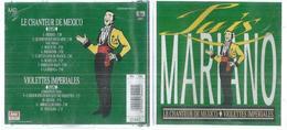"""CD -  LUIS MARIANO  """" LE CHANTEUR DE MEXICO / VIOLETTES INPERIALES """"  12 TITRES - Autres - Musique Française"""