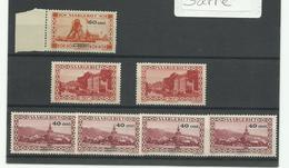 Sarre, Lot Ne N° 139,140A, 172 Neufs ** MNH Cote YT 105€ - Nuovi