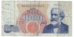 Italy 1000 Lire 20/05/1966 - [ 2] 1946-… : Républic