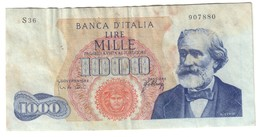 Italy 1000 Lire 20/05/1966 - [ 2] 1946-… : Republiek