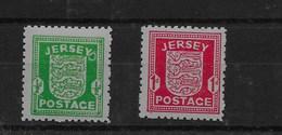 Serie Ocupación Alemana De Jersey Nº Michel 1/2y ** - Ocupación 1938 – 45