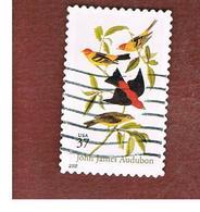 STATI UNITI (U.S.A.) -   MI 3616  - 2002 J.J. AUDUBON: BIRDS  - USED - Used Stamps