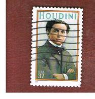 STATI UNITI (U.S.A.) -   MI 3617  - 2002 H. HOUDINI  - USED - Used Stamps