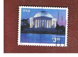 STATI UNITI (U.S.A.) -   MI 3624  - 2002 JEFFERSON MEMORIAL  - USED - Used Stamps