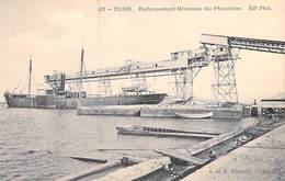 Afrique Tunisie TUNIS Embarquement Mécanique Des Phosphates -ETAT = Voir Description (Editions  BISMUTH 311)*PRIX FIXE - Tunisia