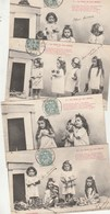 Lot 4 Cartes LE NOËL De Nos Bébés - Enfants Jouets - Scenes & Landscapes