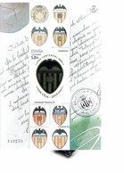 SPAIN 2019 - HOJA RECUERDO  CENTENARIO VALENCIA FOOTBALL CLUB 1919-2019 NUEVO MINT  DE € 5,20 - S/S 2019 - Blocs & Feuillets