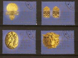 Vatican 2001 Yvertnr. 1242-45 (°) Oblitéré  Used Cote 8,50 Euro - Vatican