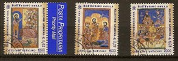 Vaticaan Vatican 2001 Yvertnr. 1224-26 (°) Oblitéré Used Cote 8 Euro - Vatican