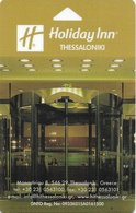 GRECIA  KEY HOTEL  Holiday Inn Thessaloniki - Hotel Keycards