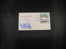 """BELG.1968 1466  & 1469 FDC  (Lissewege)   : """" Intérêt National / Nationaal Belang  """" - 1961-70"""