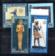 T913 - EGITTO 1967 , Serie Yvert N. 692/695  ***   (2380A) . - Egitto