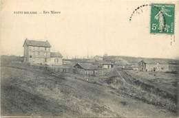 -dpts Div.-ref-AH190- Allier - Saint Hilaire - St Hilaire -les Mines - Mine - Puits - Metiers - Ligne De Chemin De Fer - - Frankrijk