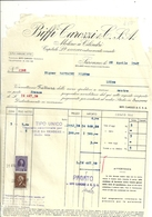SARONNO  BIFFI  CAROZZI  X    1947  X       LUINO    STATO  COME  SCANSIONE - Italia
