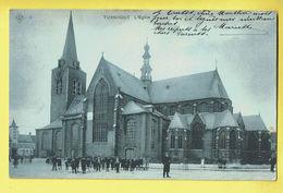 * Turnhout (Antwerpen - Anvers) * (SBP, Nr 5) L'église, Kerk, Church, Kirche, Belle Animation, Animée, Enfants, TOP - Turnhout