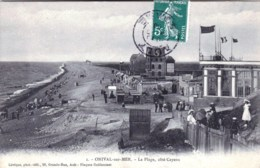 80 - Onival ( Somme ) La Plage Cote Cayeux - Onival