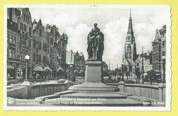 * Anderlecht (Brussel - Bruxelles) * (Nels, Edit A. Durr Et Fils, Nr 56) Place De La Vaillance, Monument Aux Héros, Rare - Anderlecht