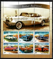 Cuba 2002 / Ancient Cars MNH Coches Antiguos Autos / Cu11309  C5 - Coches