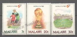Malawi 1982 Yvert 386-88, España 82 Football World Cup - MNH - Malawi (1964-...)