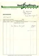 SVIZZERA--PONTE  CREMENAGA     KARE  ENGEELLERGER  PAPETERIE  STANS   RECHNUNG  1962 X  BAZAR  CREMENAGA  ITALIA - Switzerland