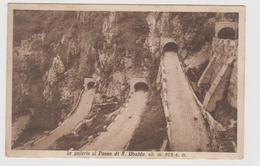 Passo Di S. UBALDO S. BOLDO (BL) Le Gallerie - F.p. - Anni '1920 - Belluno