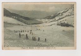Passo Di S. UBALDO S. BOLDO (BL-TV)  Campo Di Sci  - F.p. - Anni '1920 - Belluno