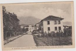 SANTA GIUSTINA BELLUNESE, Municipio Visto Sul Viale Della Stazione  - F.p. - Anni '1930 - Belluno