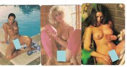 3 Minikalender Erotik 9 - Formato Piccolo : 1991-00
