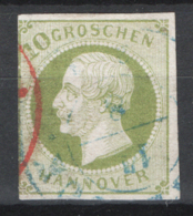 Germania Hannover 1859 Unif.21 O/Used F - Hannover