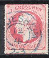 Germania Hannover 1864 Unif.24 O/Used VF/F - Hanover