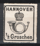 Germania Hannover 1864 Unif.23 */MH VF/F - Hannover