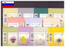 Slovenie 2009 - MNH ** - Fleurs - Michel Nr. 717-727 Série Complète (slo540) - Slowenien