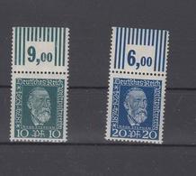 Dt. Reich Mi. 368/9 Postfrisch Rand - Unused Stamps