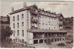 54. LAY SAINT CHRISTOPHE . SANATORIUM . Obliteration NANCY - ENTREPOT - France
