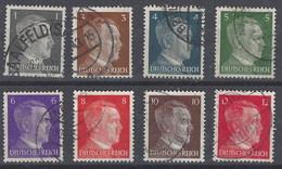 Alemania Imperio U 705/710b (o) Hitler. 1941 - Gebruikt