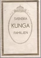 SVENSKA KUNGA FAMILJIEN 1931: The Royal Family Of Sweden, Very Rare Old Edition 64+4 Pg With Many Rare Illustrations - Scandinavian Languages