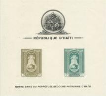 HAITI   YVERT  H/B  1/3  (SIN DENTAR)   MNH  ** - Haití