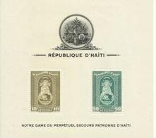 HAITI   YVERT  H/B  1/3  (DENTADAS)  ( LA 1 TIENE UN PEQUEÑO PLIEGUE EN ESQUINA SUPERIOR)  MNH  ** - Haití