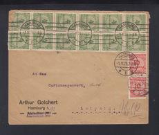 Dt. Reich Brief Hamburg 1.11.23 Nach Leipzig - Deutschland