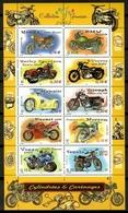 France 2002 Francia / Motorbikes MNH Motos Motocicletas / Ke23  18 - Motos