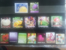 Petit Lot De Timbres Du Luxembourg Après 2000 - Stamps
