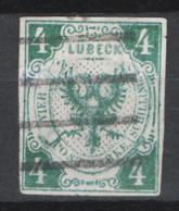 Germania Lubecca 1859 Unif.5 O/Used VF/F - Lubeck