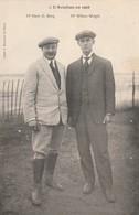 Rare Cpa 1908 Hart O Berg Et Wilbur Wright - Aviateurs