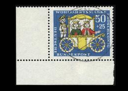 BRD 1966: Michel-Nr. 526, Wohlfahrt 1966, Eckrand Unten Links, Gestempelt - BRD