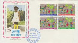 HAÏTI 1979 First FDC International Year Of The Child.BARGAIN.!! - Haïti