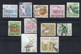 Sudan - 1962 - Definitives (No Watermark, Part Set) - Used - Soudan (1954-...)