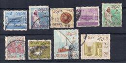 Sudan - 1962 - Definitives (With Watermark, Part Set) - Used - Soudan (1954-...)