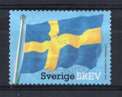 Sweden - 2014 - National Flag - Used - Oblitérés